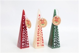 Elf Advent Candle 3 Assorted 20cm