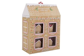 Gingerbread House Candle Set