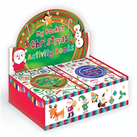 Christmas Pcoket Activity Book ( SOLD IN 24's)