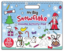 Christmas Doodle Activity Book