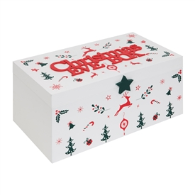 Colourful Wooden Christmas Eve Box