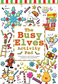 Busy Elves Activity Book