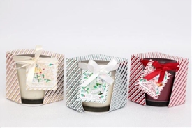 Festive Drink Scented Candles 3 Assorted