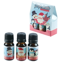 Festive Christmas Set Of Fragrance Oils 10ml