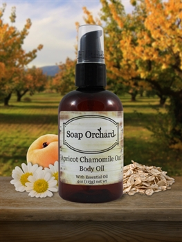 Apricot Chamomile Oat Body Oil