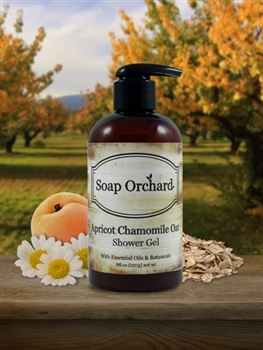 Apricot Chamomile Oat Shower Gel