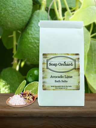 Avocado Lime Bath Soak