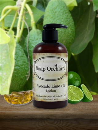 Avocado Lime + E Lotion