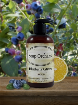 Blueberry Citrus Lotion - Retiring