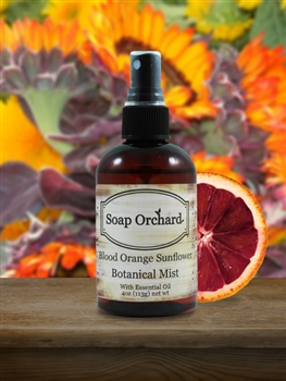 Blood Orange Sunflower Botanical Mist - Retiring