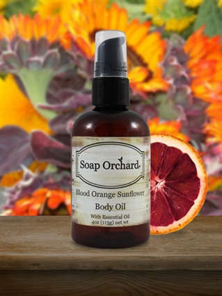 Blood Orange Sunflower Body Oil