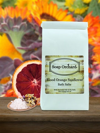 Blood Orange Sunflower Bath Soak