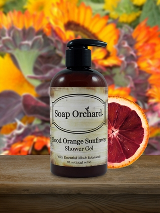 Blood Orange Sunflower Shower Gel