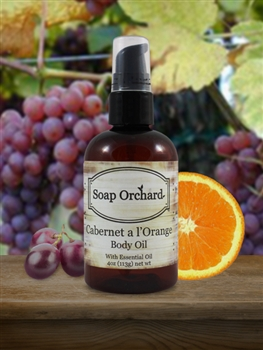 Cabernet a l'Orange Body Oil