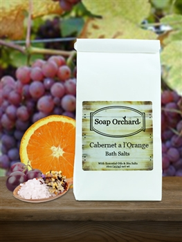Cabernet a l'Orange Bath Soak - Retiring