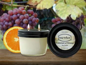 Cabernet a l'Orange Double Wick Soy Candle - Retiring