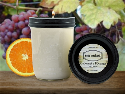 Cabernet a l'Orange 16oz Jar Soy Candle