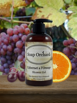 Cabernet a l'Orange Shower Gel