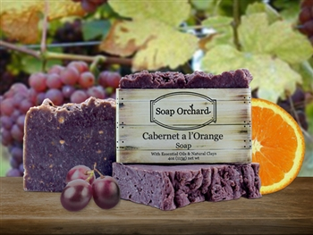 Cabernet a l'Orange Soap - Retiring Soap