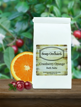 Cranberry Orange Bath Soak - Retiring