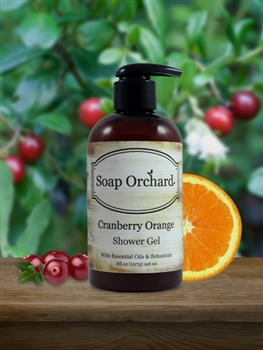 Cranberry Orange Shower Gel
