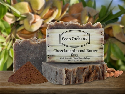 Chocolate Almond Butter Soap - Retiring