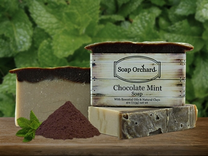 Chocolate Mint Soap - Retiriing