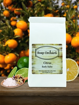 Citrus Bath Soak - Retiring