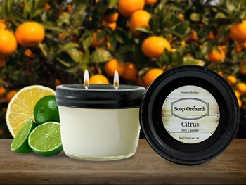 Citrus Double Wick Soy Candle