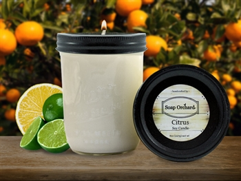 Citrus 16oz Jar Soy Candle