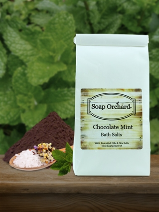 Chocolate Mint Bath Soak - Retiring