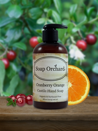 Cranberry Orange Hand Soap