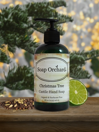 Christmas Tree Hand Soap - Retiring