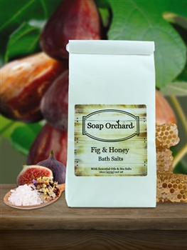 Fig & Honey Bath Soak - Retiring