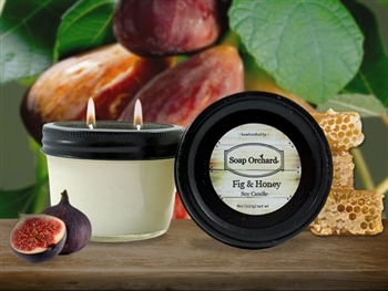 Fig & Honey Double Wick Soy Candle - Retiring