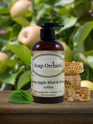 Green Apple Mint & Honey Lotion - Retiring