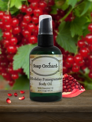 Holiday Pomegranate Body Oil