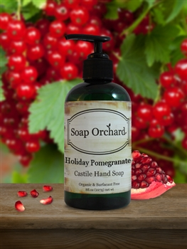 Holiday Pomegranate Hand Soap - Retiring