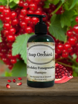 Holiday Pomegranate Shampoo - Retiring