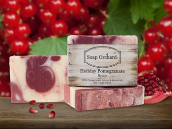 Holiday Pomegranate Soap - Retiring Soap