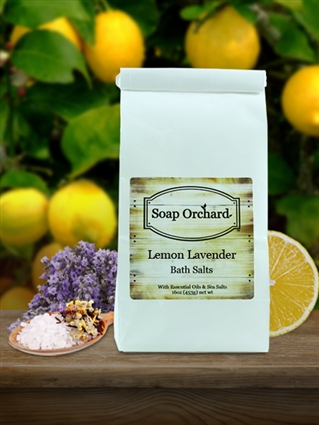 Lemon Lavender Bath Soak