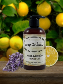 Lemon Lavender Shower Gel