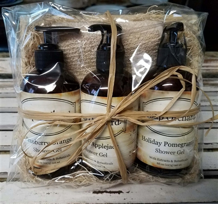 Mixed Shower Gel Gift Crate