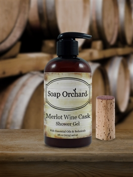 Merlot Wine Cask Shower Gel