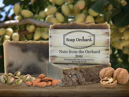 Nuts from the Orchard Soap - Retiring