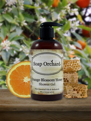 Orange Blossom Honey Shower Gel