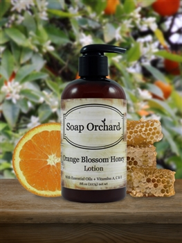 Orange Blossom Honey Lotion