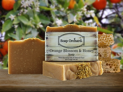 Orange Blossom Honey Soap