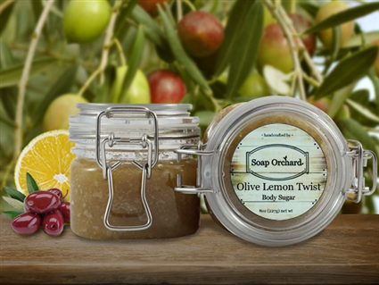 Olive Lemon Twist Body Sugar - Retiring