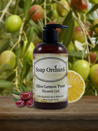 Olive Lemon Twist Shower Gel